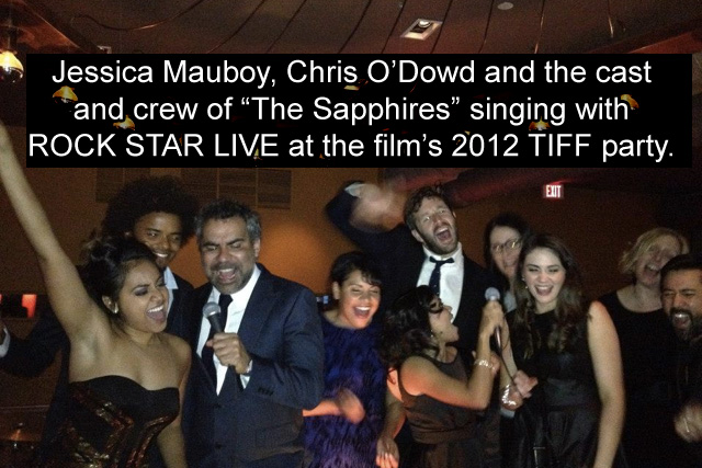 TIFF with Chris O'Dowd and Jessica Mauboy